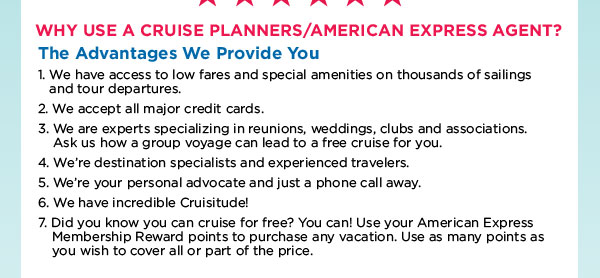 Why Cruise Planners?