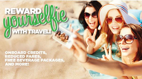 Reward Yourselfie with travel!